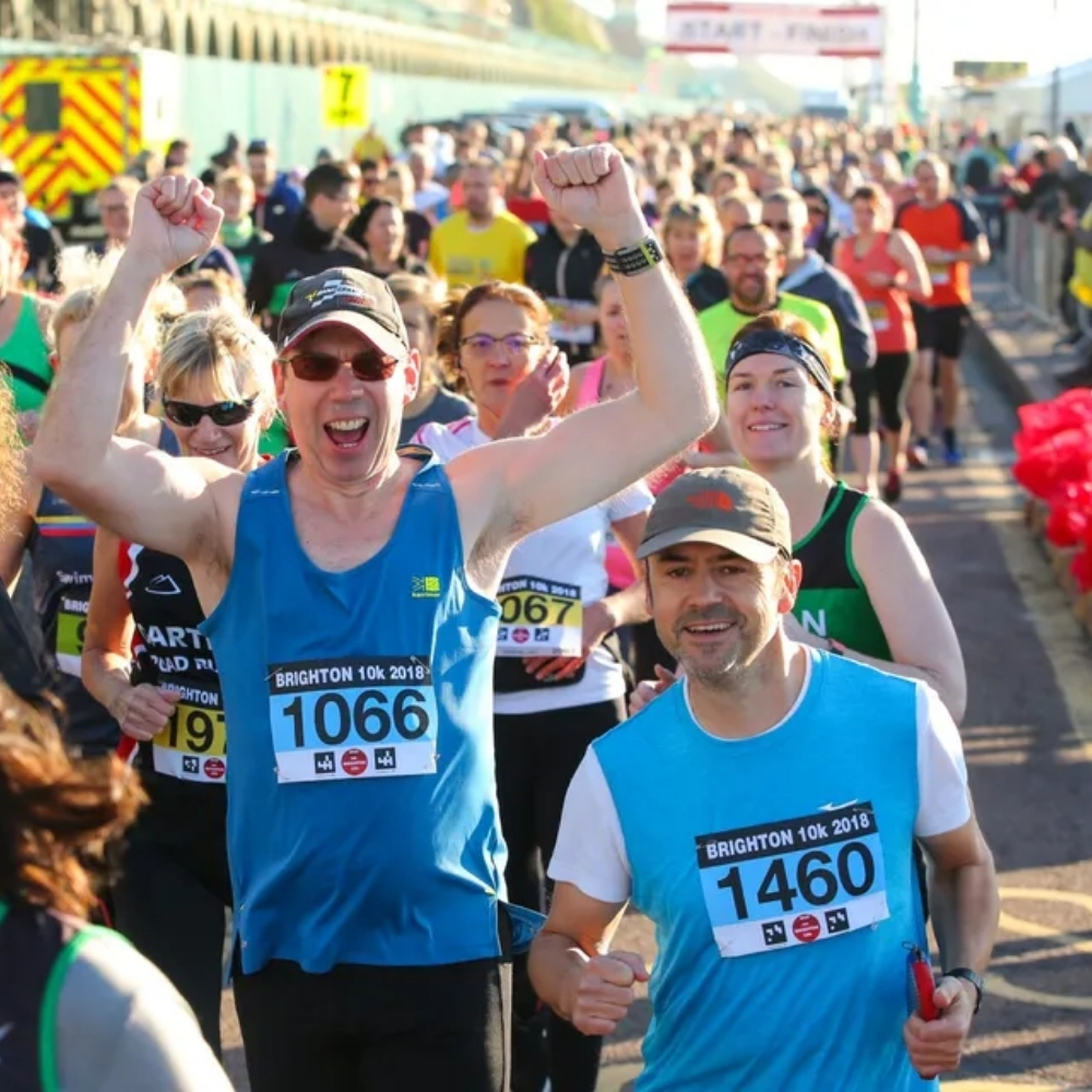 Brighton 10k run